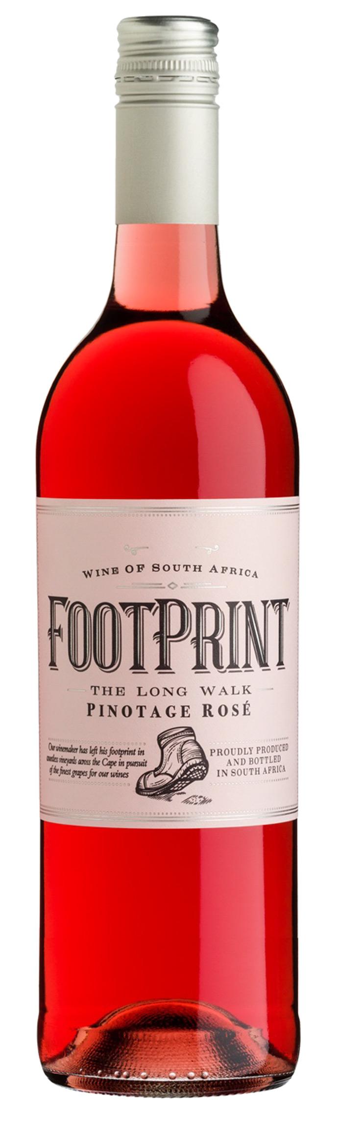 Vintage Style Footprint Weine Aus Sudafrika Wein Design Label Etikett Wine Mydailywine Footprint Vinho Vinhos