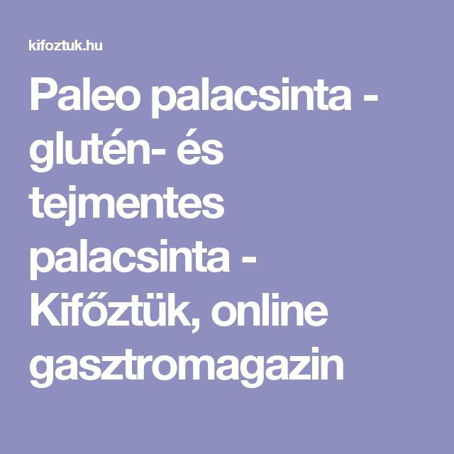Paleo palacsinta - glutén- és tejmentes palacsinta - Kifőztük, online gasztromagazin