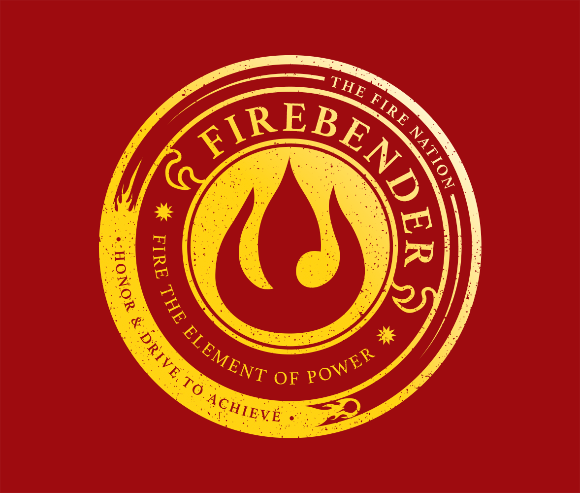 Fire Nation Symbol Holographic Vinyl Decal Fire Nation Symbol Vinyl Decals Fire Nation