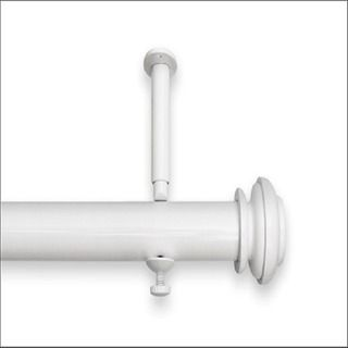 Adjustable 12 To 20 Foot Patio Door Curtain Rod 240 Pewter