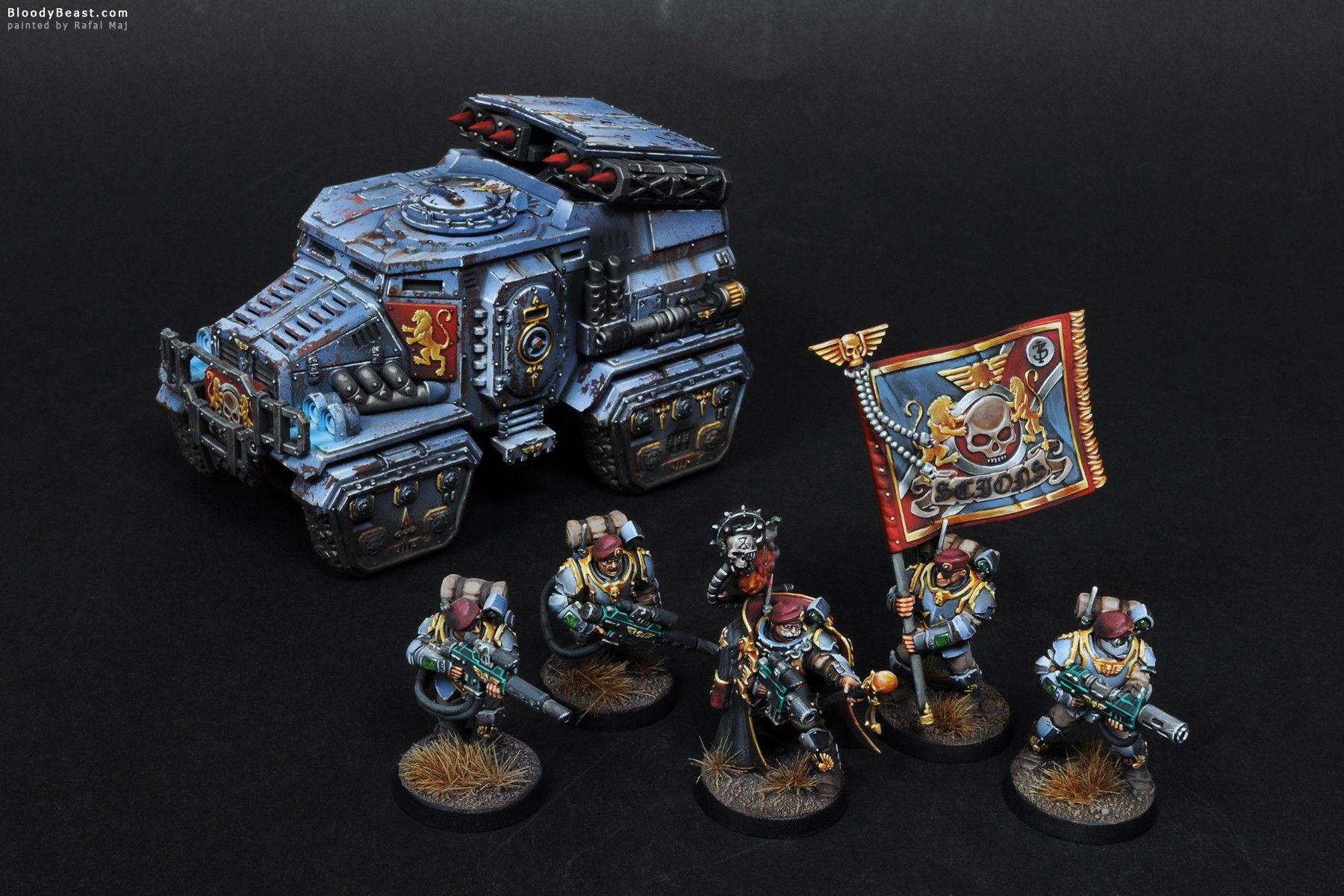 Vostroyan Scions: Militarum Tempestus Scions With Taurox Prime
