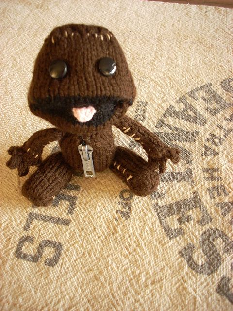 Sackboy From Little Big Planet I Want One Lol Too Cute