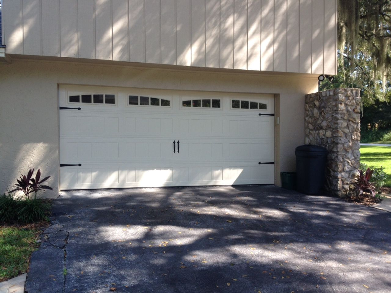 Mid America Regal Carriage Style Garage Door With Windows And