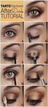 Trendy Makeup for Beginners Tutorial Step by Step Colorful Eyeshadow Ideas …