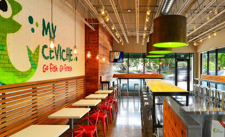 My Ceviche Fast Food By ID Design International Miami Florida Retail