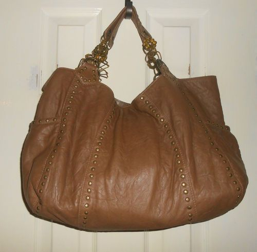 Lovely Brown Slouchy Leather Handbag Ebay Just Bought This From Uk
