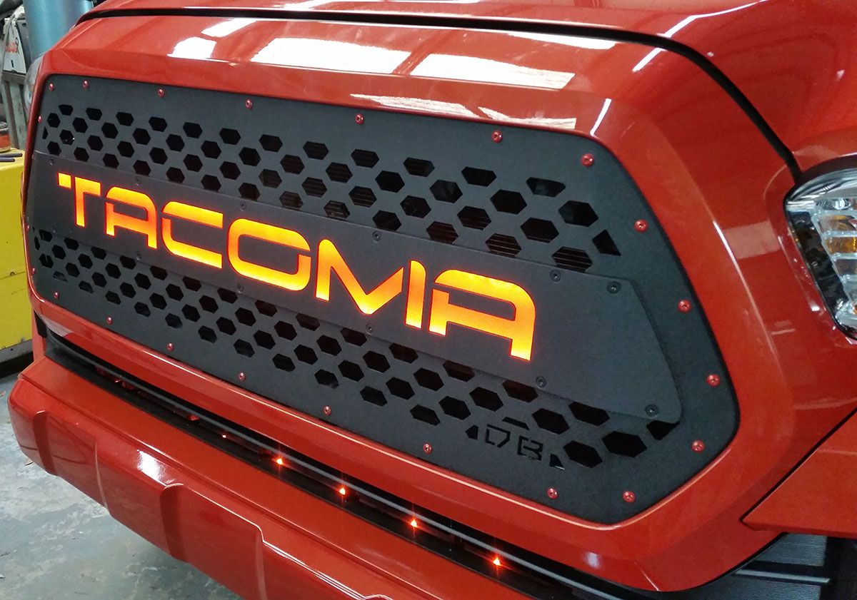 Db Customz 2016 2017 Tacoma Drop In Grille Insert Trd Style