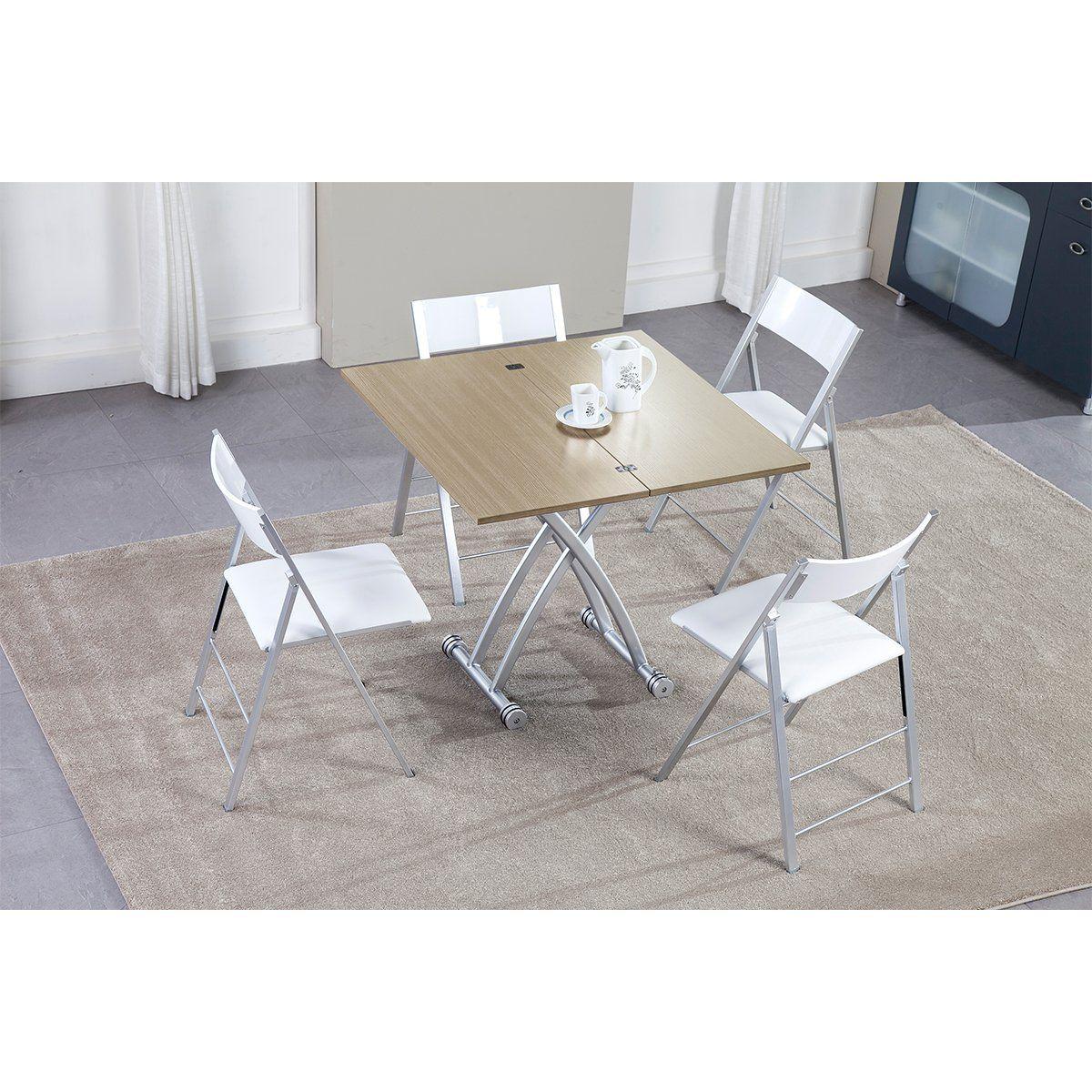 Amazoncouk DEVAISE Height Adjustable Multifunction Coffee Table