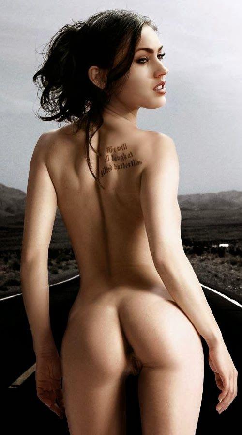 Megan Fox Naked Butt
