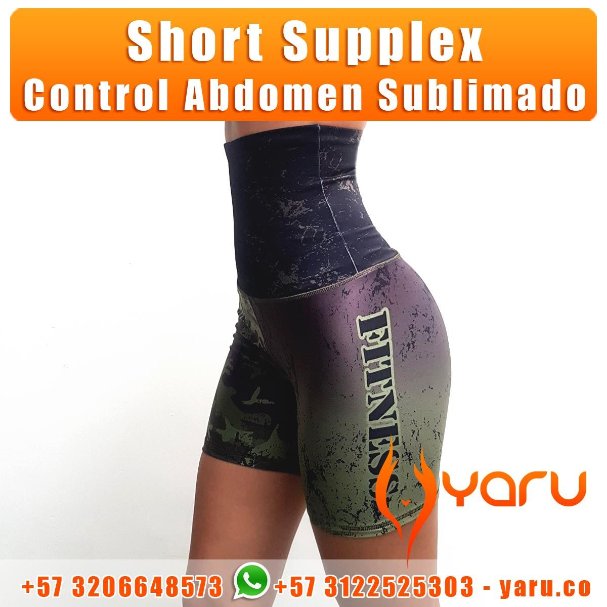 e676982194854 Pin by YARU FABRICA FAJAS COLOMBIA Exportadora on Short Supplex Sublimado  Control Abdomen