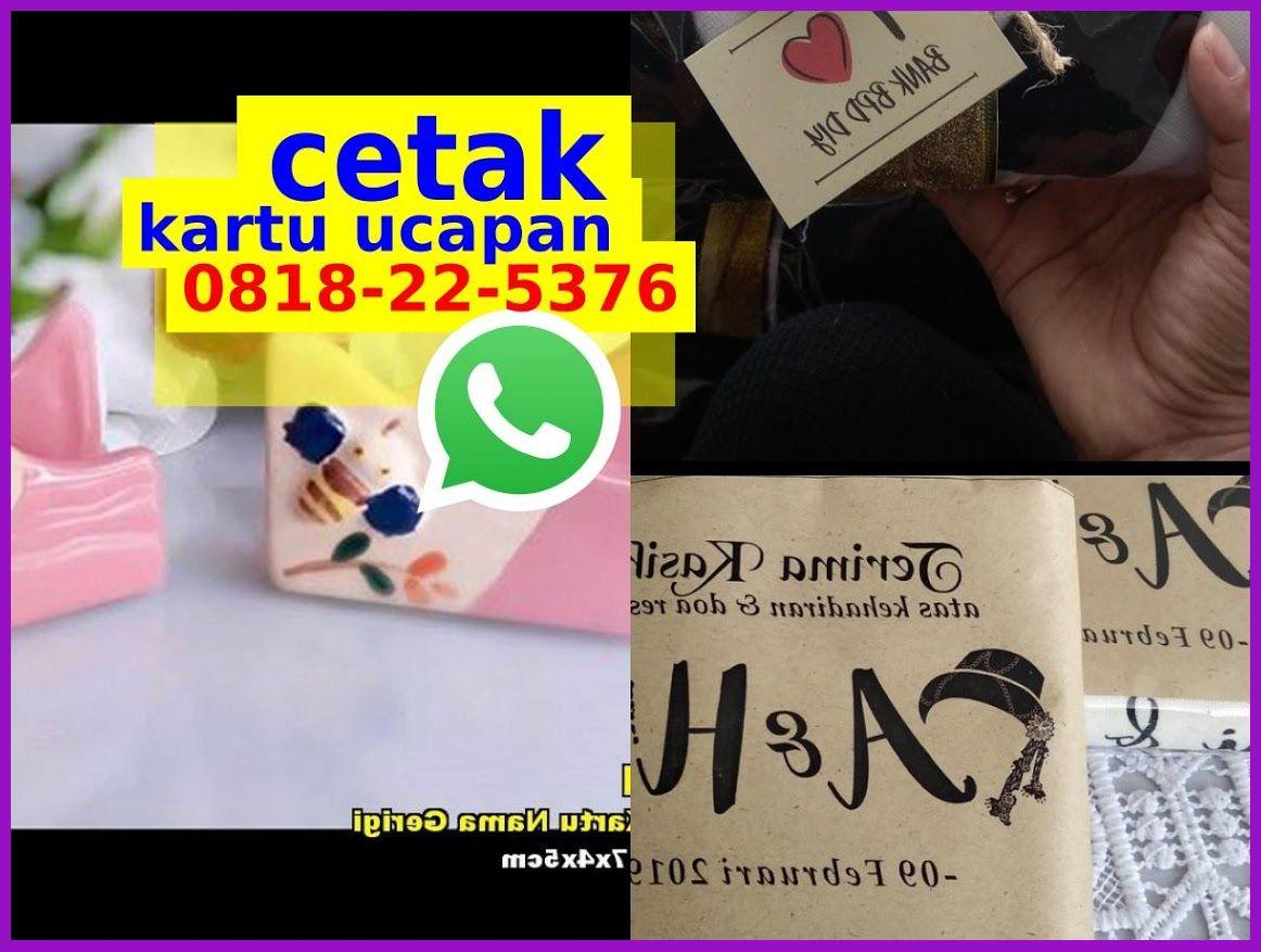 Kartu Souvenir Pernikahan Doc 08I8•22•5376 (WA) di 2020 ...