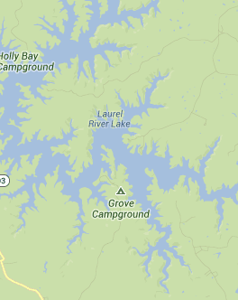 laurel lake ky map Laurel River Lake Lakes Rivers In Kentucky Fishing Boating laurel lake ky map