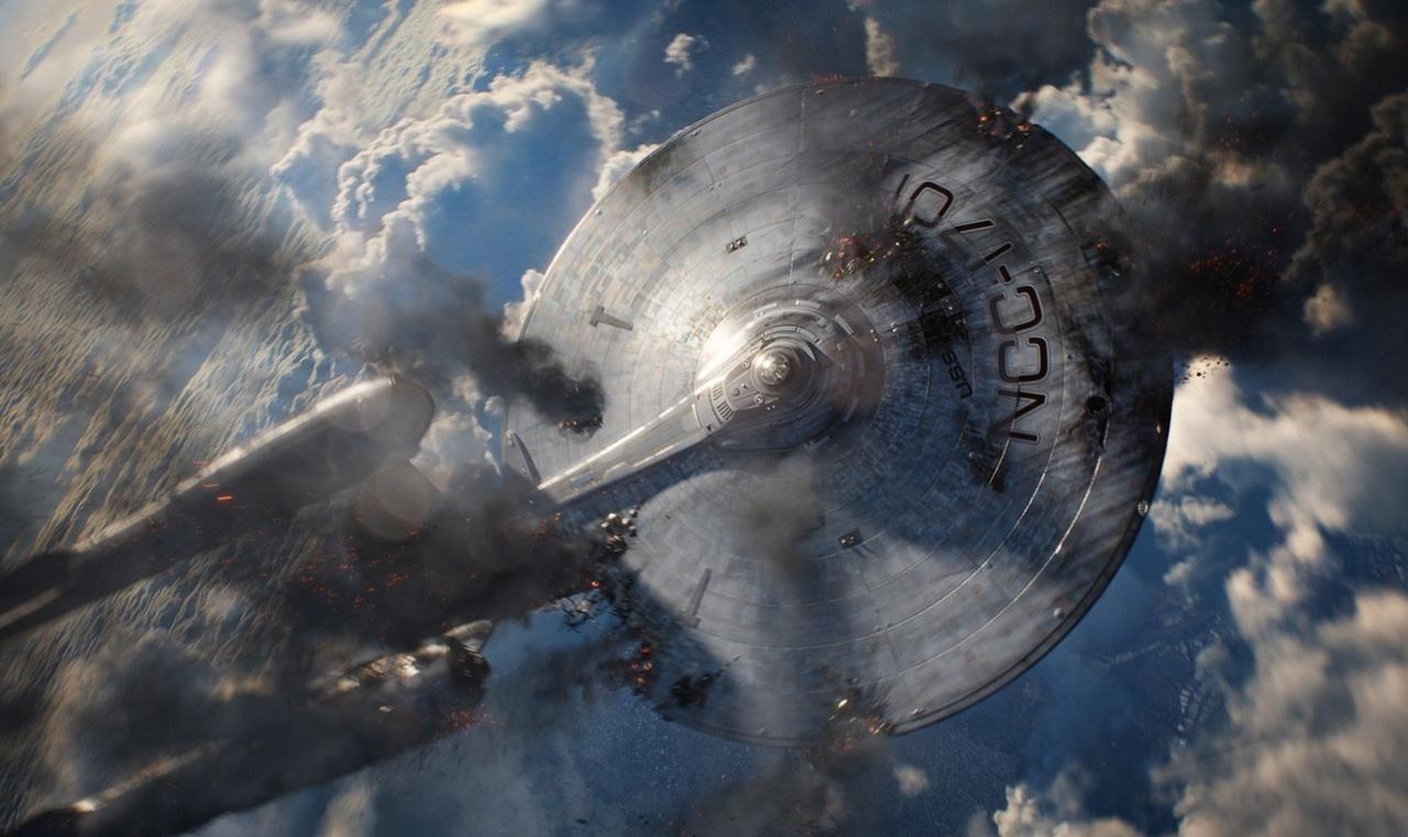 Star Trek Into Darkness - Falling Enterprise
