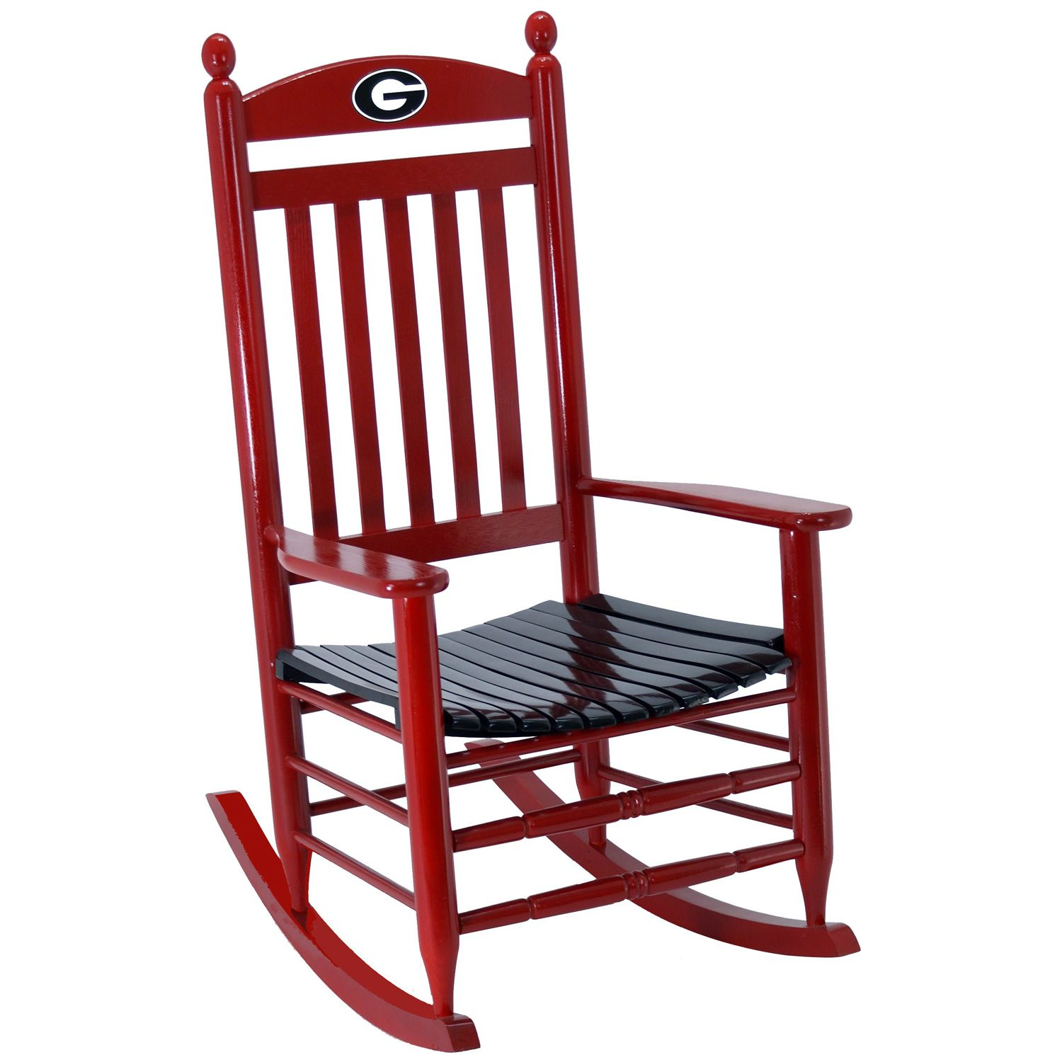 Super Georgia Bulldogs Rocking Chair Red Georgia Stuff Gmtry Best Dining Table And Chair Ideas Images Gmtryco