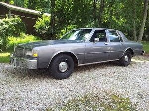 1988 Chevrolet Caprice - police cruiser edition $1988 buy it
