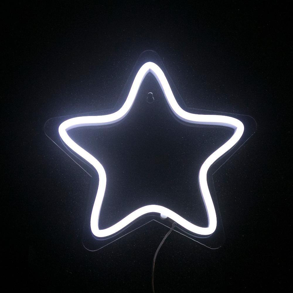 Star LED Neon Sign