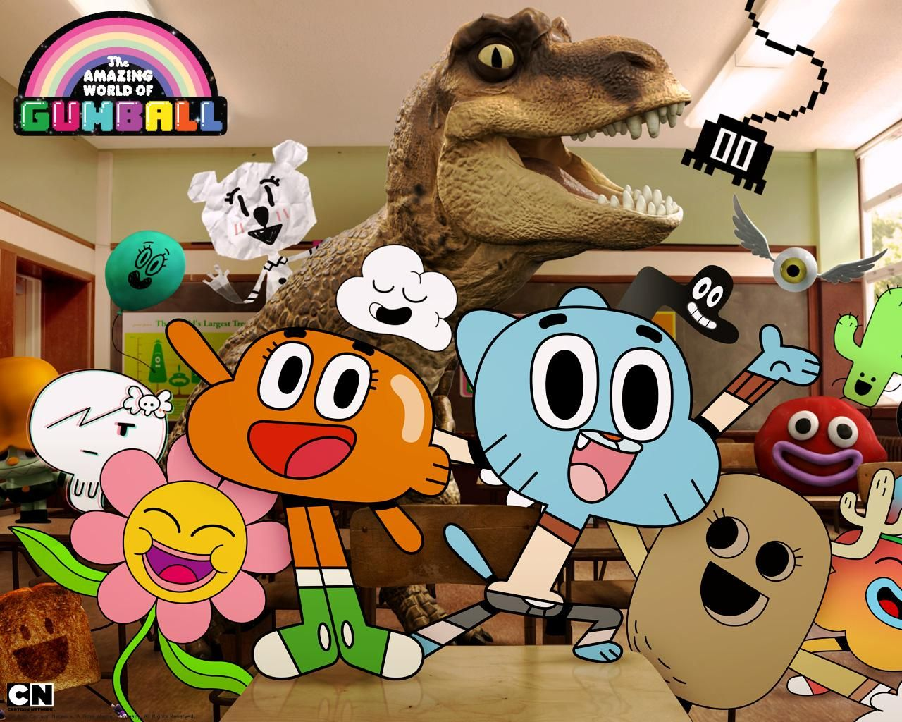 Gumball The Amazing World Of Gumball World Of Gumball Cartoon Network Characters