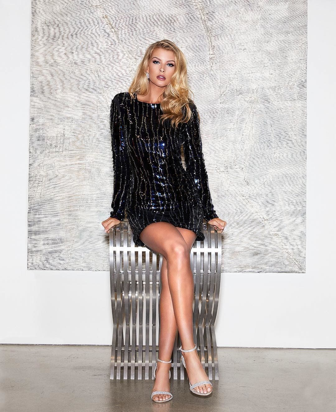d25ecfa350 She s electric ⚡ The Electra Sequin Dress  marciano