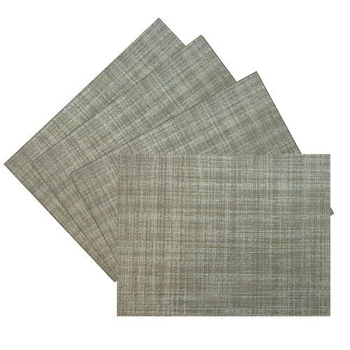 Benson Mills Multi Color Woven Vinyl Placemat In Natural Set Of 4 By Benson Mills 20 56 Available In Additi Dining Table In Kitchen Placemats Home Kitchens