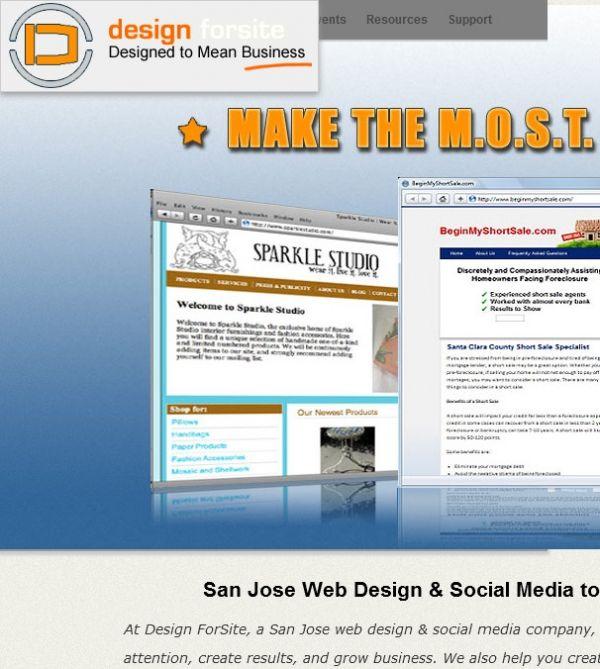 Design Forsite Website Design Located At San Jose Ca 95109 In San Jose Ca Offers Web Design With Images Web Design Web Development Design Seo Company