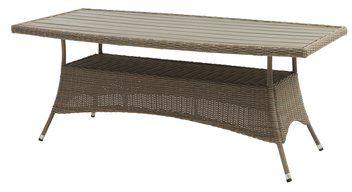 Fra mega Bord SAGEBY 100x200cm stål/kunsttre/peta | Garden furniture HX-57