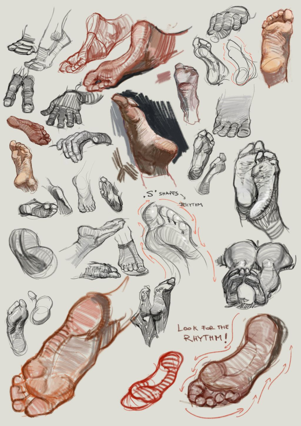 http://fc04.deviantart.net/fs71/i/2014/310/4/c/feet_studies_6nov_by_vladgheneli-d85ggy1.jpg   ★ || CHARACTER DESIGN REFERENCES (https://www.facebook.com/CharacterDesignReferences & https://www.pinterest.com/characterdesigh) • Love Character Design? Join the Character Design Challenge (link→ https://www.facebook.com/groups/CharacterDesignChallenge) Share your unique vision of a theme, promote your art in a community of over 25.000 artists! || ★
