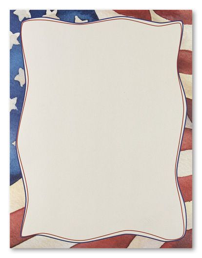 patriotic borders, fourth of july, clip art, click 50 Birthday