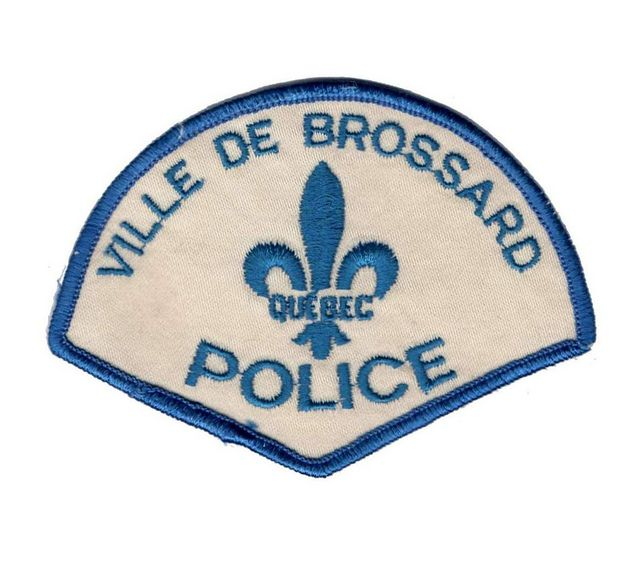 Laval Quebec Police Patch BNQ Vintage