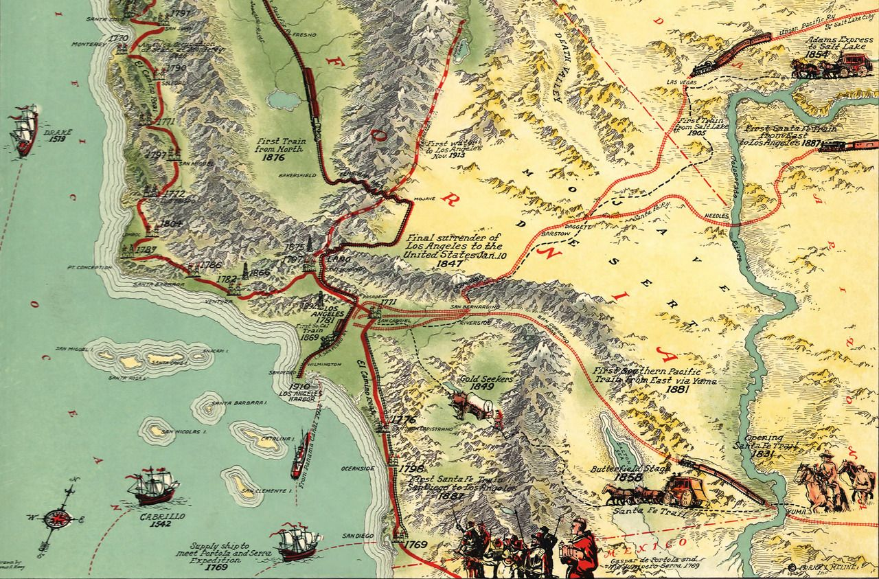 Pin By Michael Jurs On Cartophile With Images California Map California History Cartography
