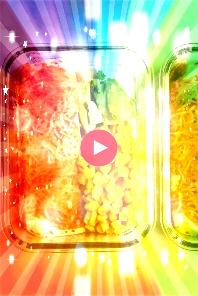 Enchiladas Meal Prep Enchiladas is your lazy solution to eating a delicious and veggie packed lunch without having to put too much effort into your meal prep MealPrepMeal...