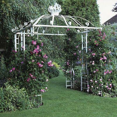 Shabby Chic Interiors: A dream garden