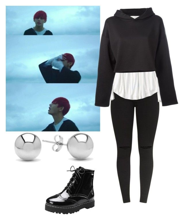 U0026quot;Taehyung inspired outfit save me m/vu0026quot; by i-love-jimin on Polyvore featuring American Eagle ...