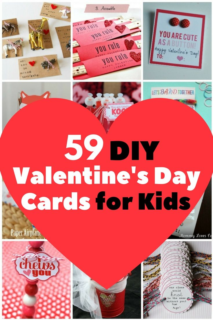 59 Adorable Valentine S Day Cards For Children Valentine S Cards