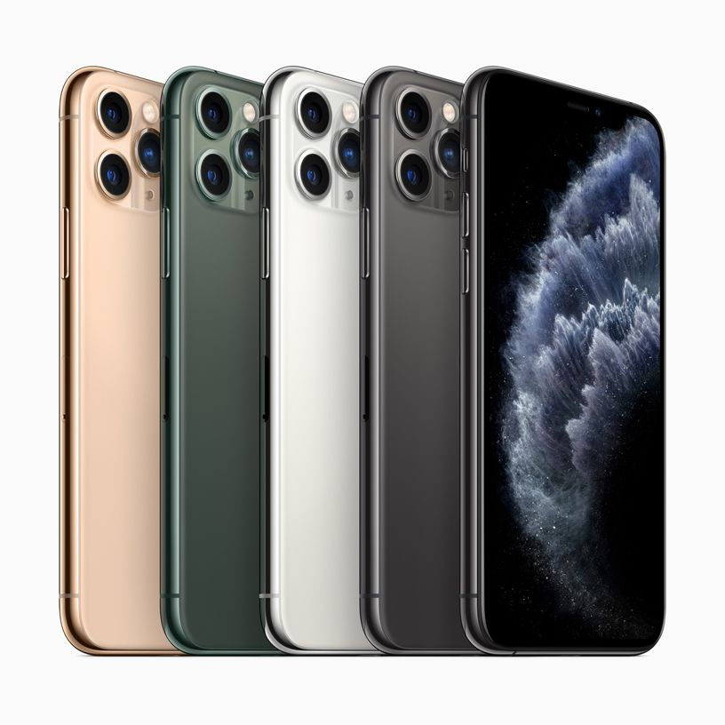 Apple Unveils Iphone 11 Pro And 11 Pro Max With New Midnight Green