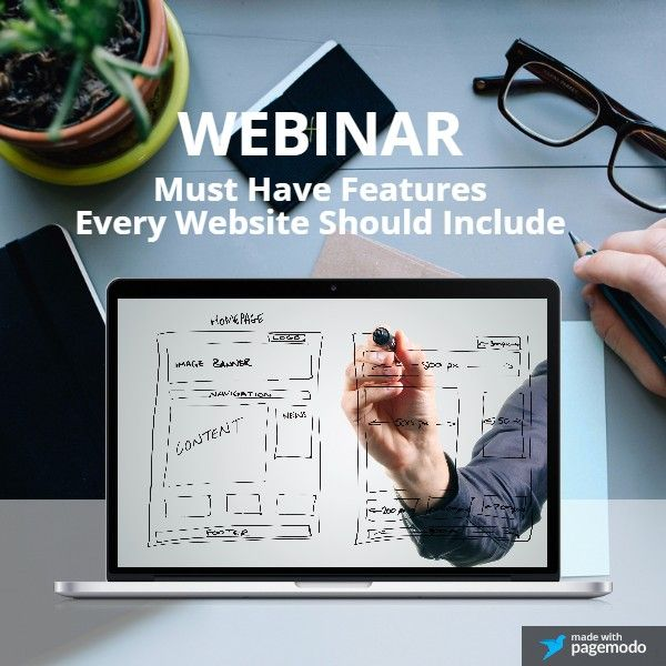 Don't miss our upcoming webinar: Must Have Features Every Website Should Include. Register now at http://www.bizcentralusa.com/webinars/