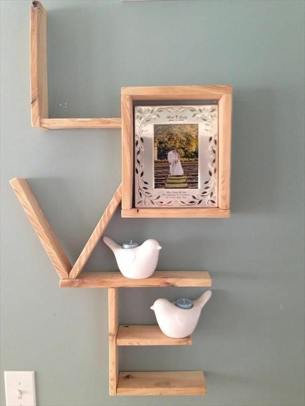 Building With Pallets Wooden Shelf Wooden Boxes Build Yourself