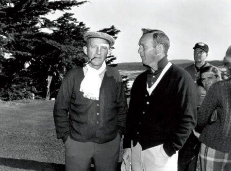 California Cool:  Pebble Beach - Bing Crosby & Arnold Palmer