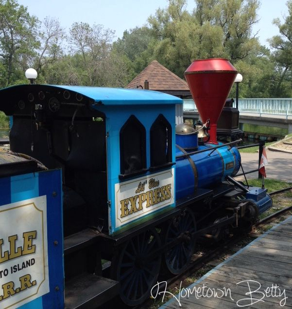 #Train ride around Centerville Amusement Park in #Toronto #Canada #family #travel #amusementpark #review