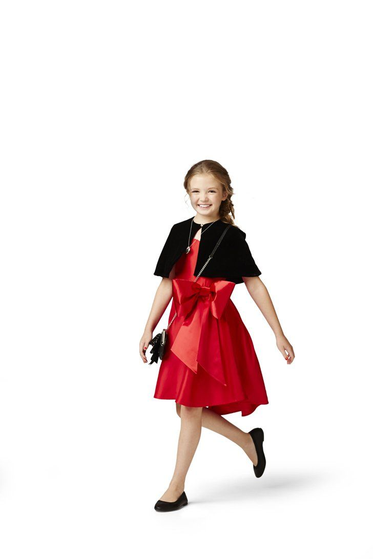 096fbd39d61 Pin for Later  Target s Newest Collection Will Have Girls Singing For  Tomorrow Little Red Dress Annie s iconic red dress gets a modern-day  makeover.