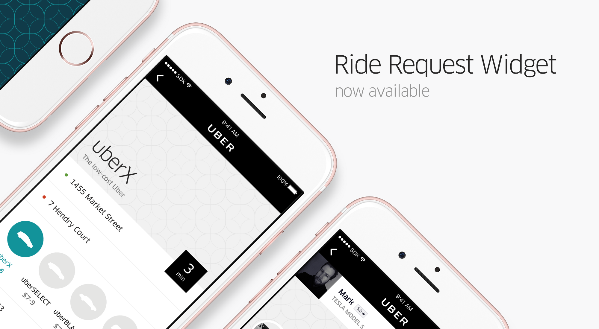 Get your app moving the Ride Request Widget is now