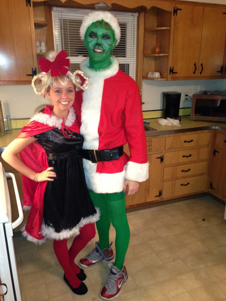 Superb Christmas Party Fancy Dress Ideas Part - 12: Ideas U0026 Accessories For Your DIY Grinch U0026 Cindy Lou Halloween SantaCon Costume  Idea