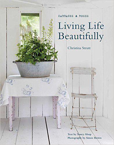 ''Living life beautifully'' great book for decorating idea #shabbychic