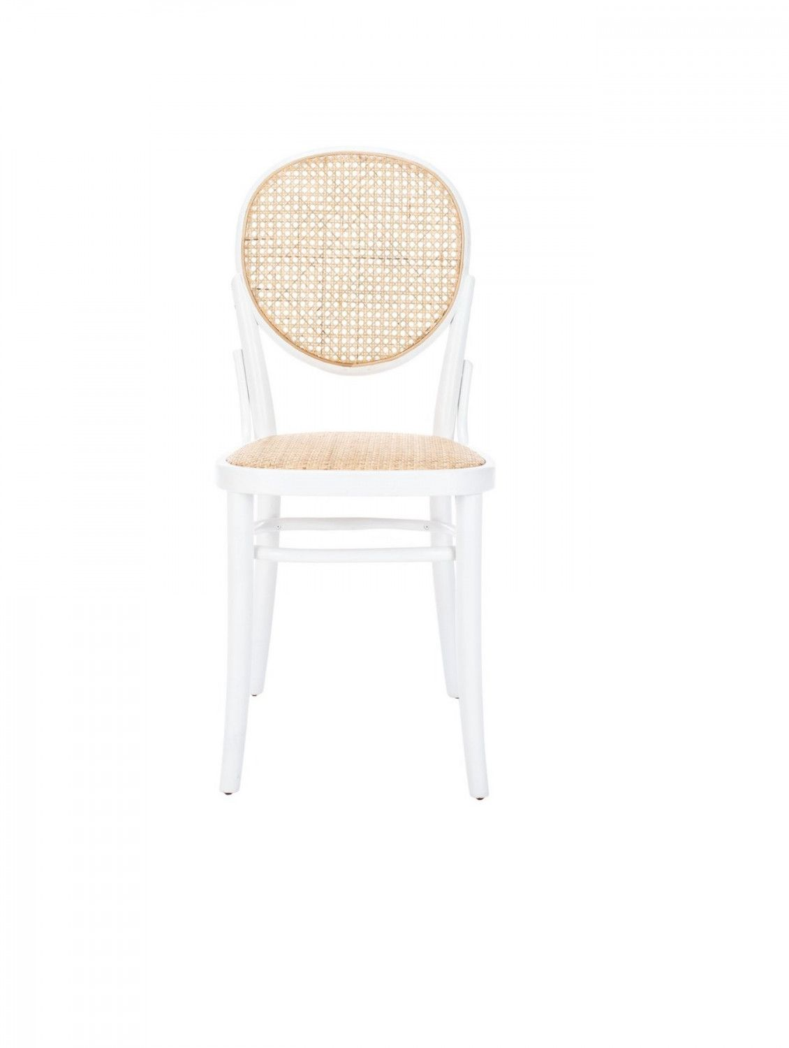 Bea Cane Dining Chair Set Of 2 White In 2020 Cane Dining Chairs Dining Chairs Chair Set