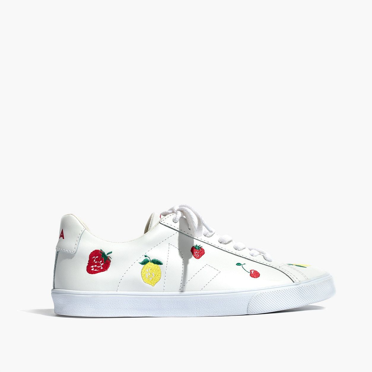 55b85d50bff Madewell x Veja™ Fruit Embroidered Sneakers Esplar Low Sneakers    Madewell Shop By Category