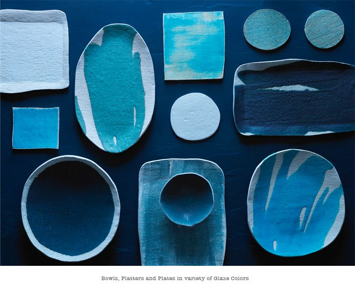 Bowls, platters and plates by Elephant Ceramics