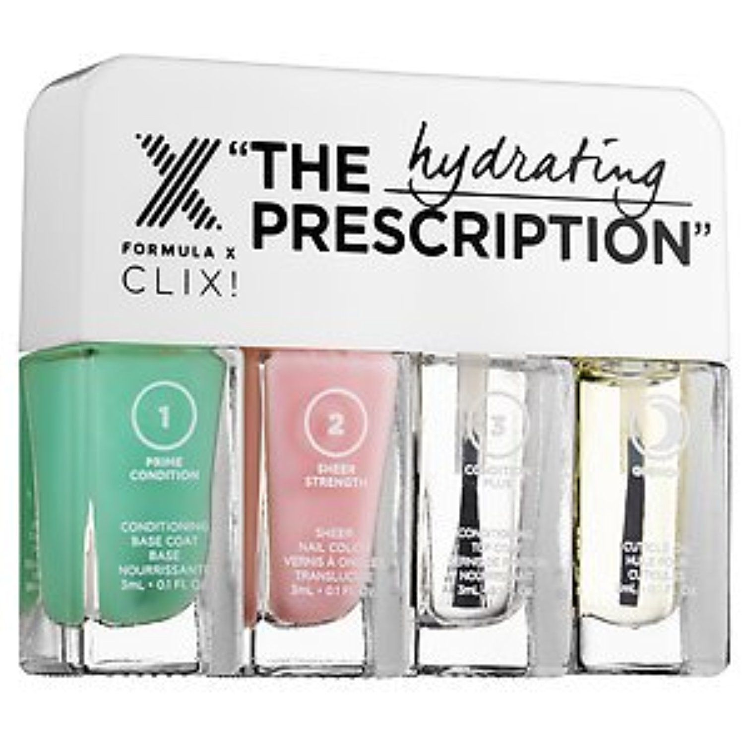 Formula X The Prescription: Hydrating (For Dry or Peeling Nails ...