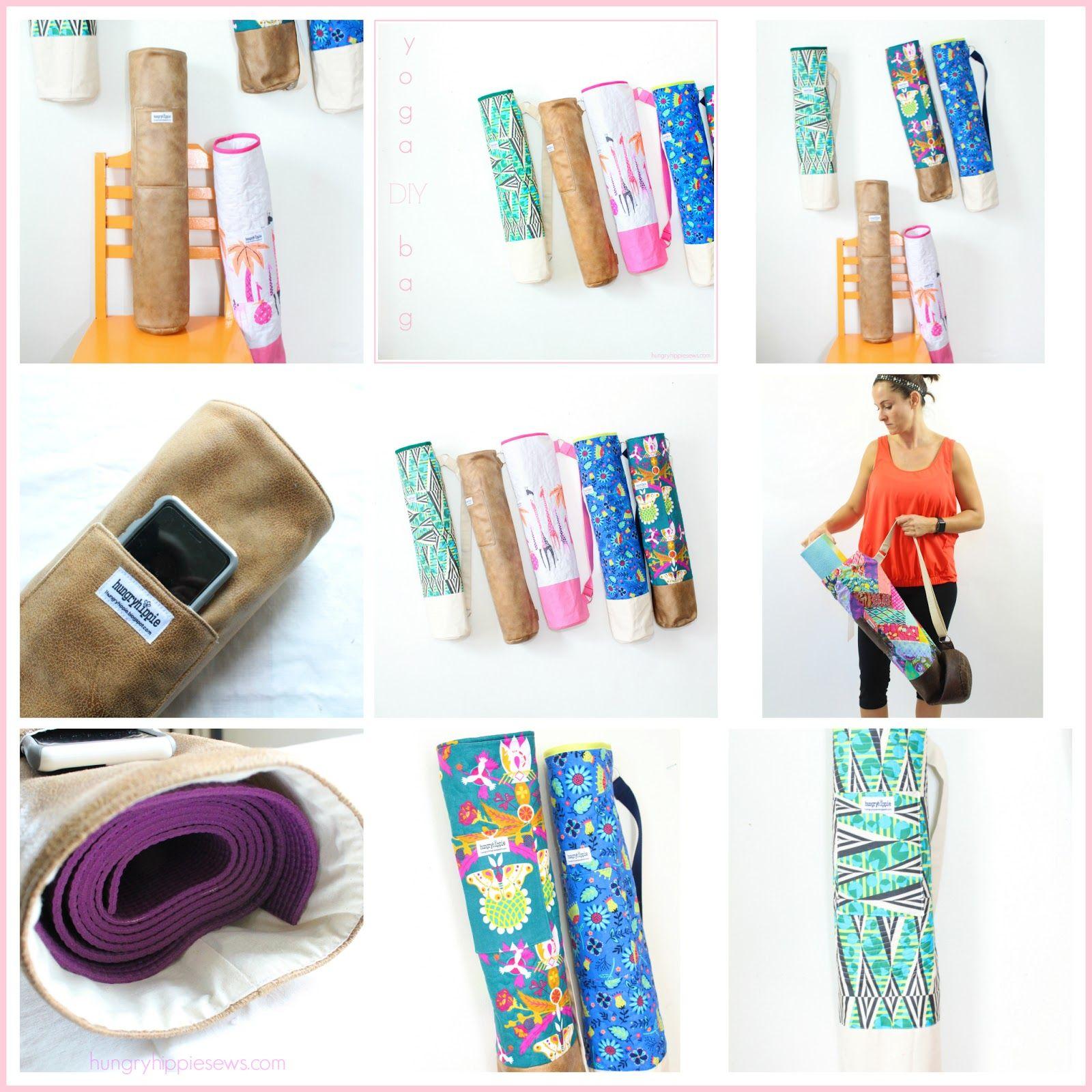 Ananda Yoga Bag Sewing pattern tutorial and PDF   Nähen