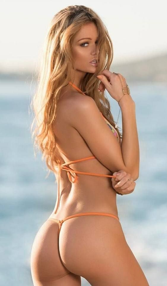 Certainly not beautiful string bikini