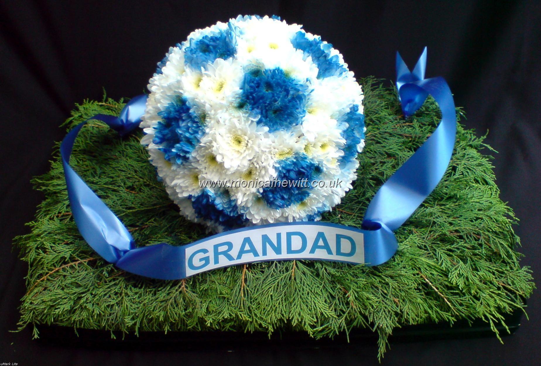 Football funeral flowers monica f hewitt florist sheffield football funeral flowers monica f hewitt florist sheffield izmirmasajfo
