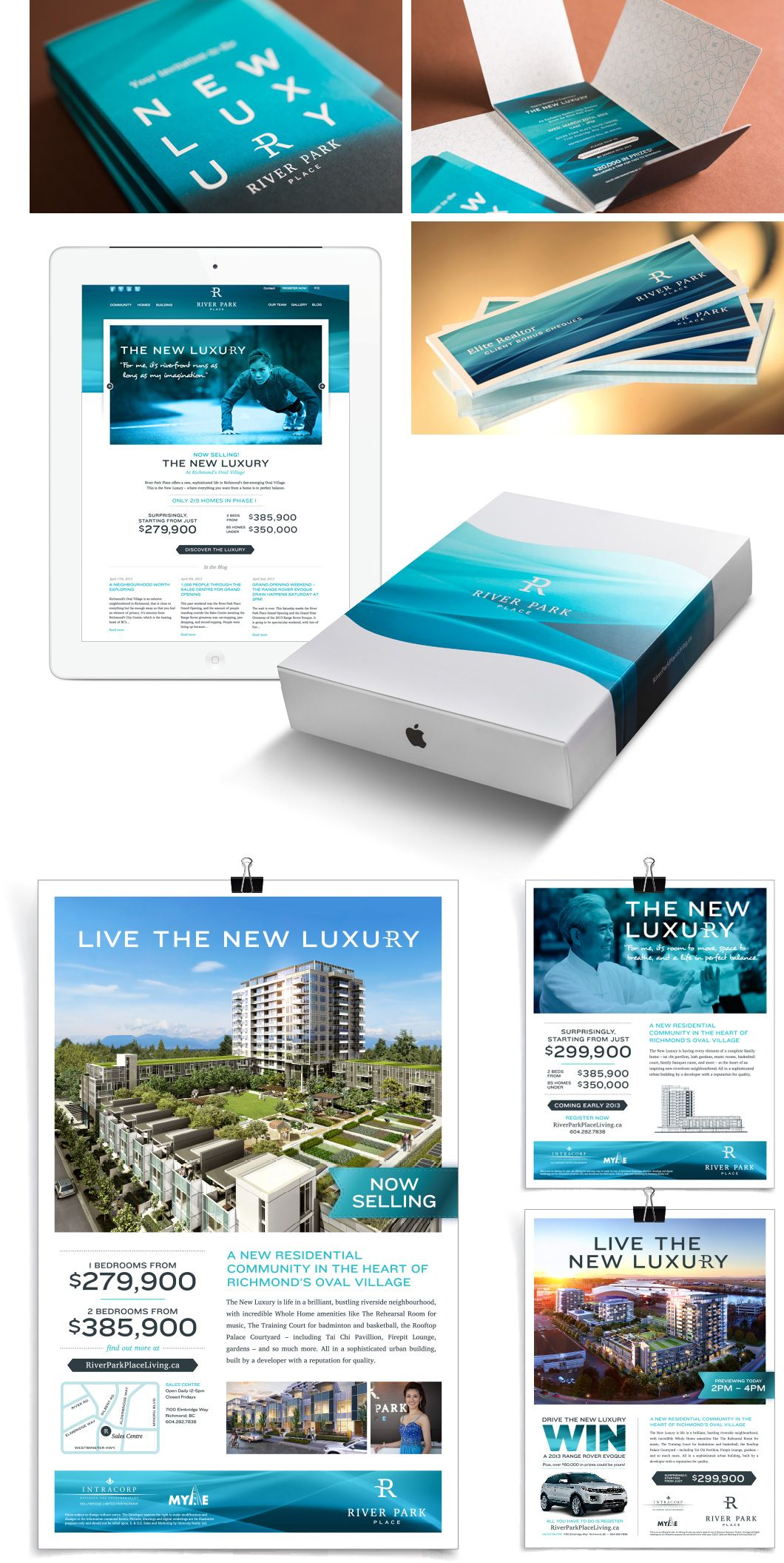 River Park Place Real Estate Marketing | Posters, Flyers, + Cards ...